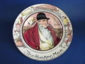 Royal Doulton Professionals Series 'The Hunting Man' Portrait Rack Plate c1940